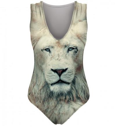 swimwear with lion motive