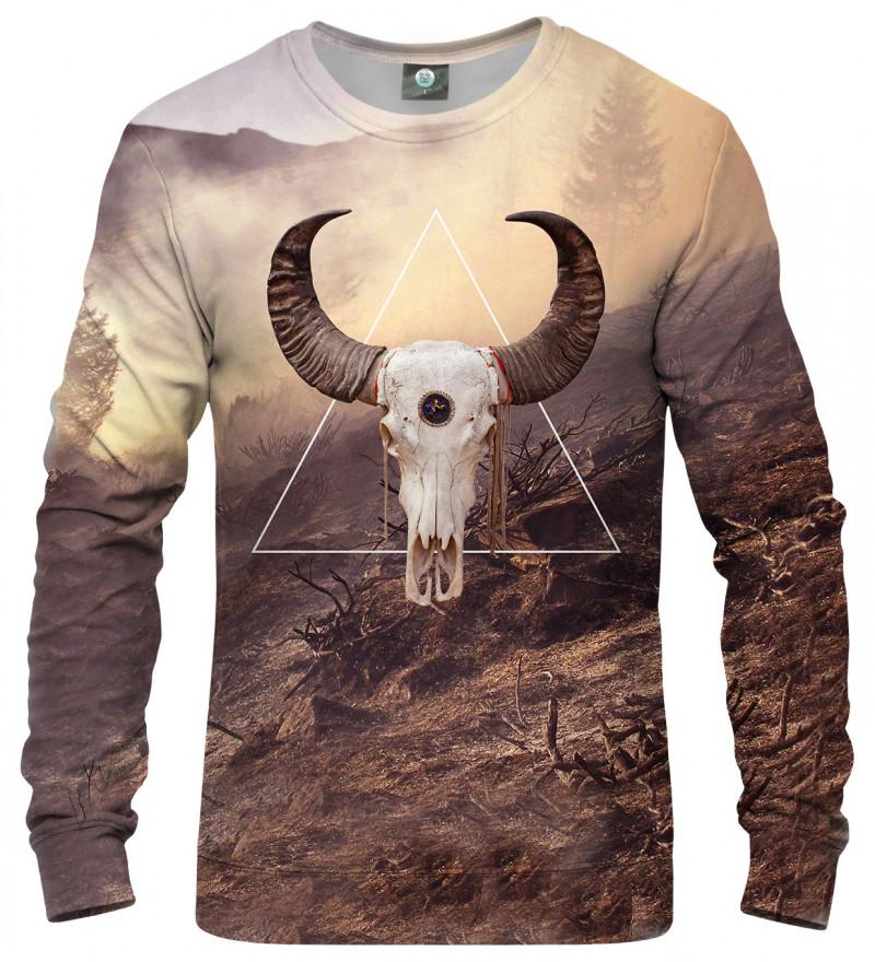 bluza z motywem kozy