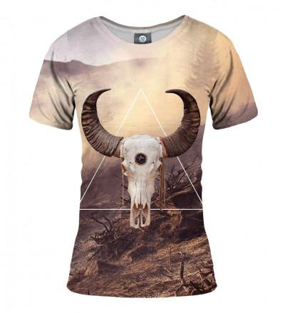 koszulka z motywem kozy