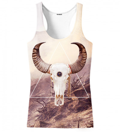 tank top with goat motive
