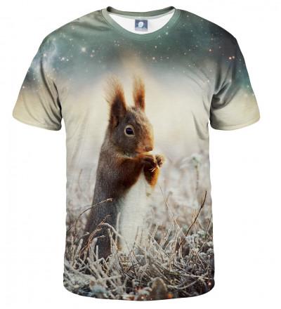 tshirt with squirrel motive