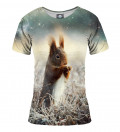 tshirt with squirrel motive