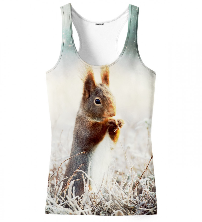 top with squirrel motive