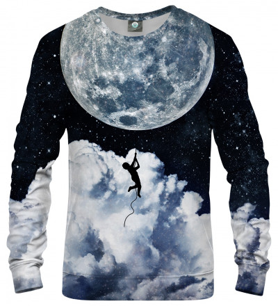 sweatshirt with moonlight motive
