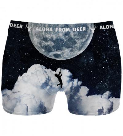 Underwear with moonlight motive