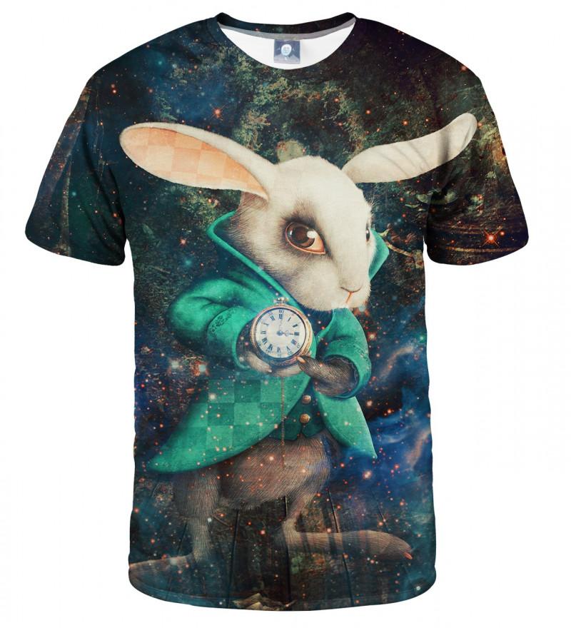 koszulka z motywem królika z alicji w krainie czarów