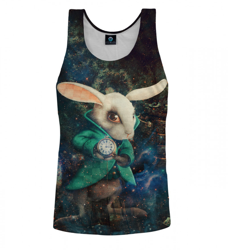 top with rabbit from alice in wonderland