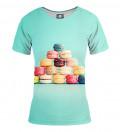 T-shirt damski Macarons