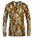 Golden women sweatshirt