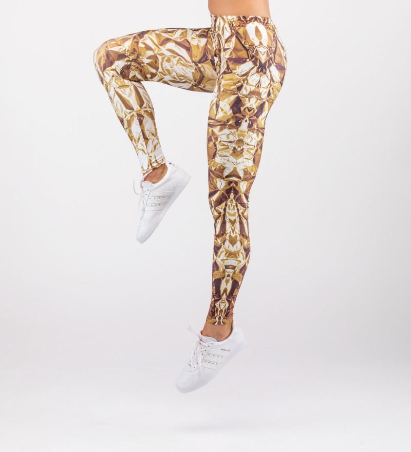 golden leggings