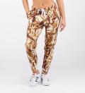 Golden women sweatpants