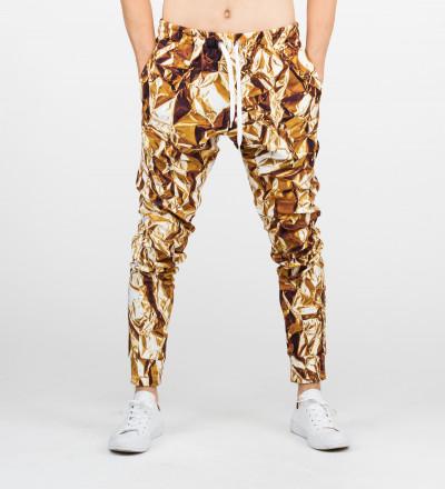 golden sweatpants