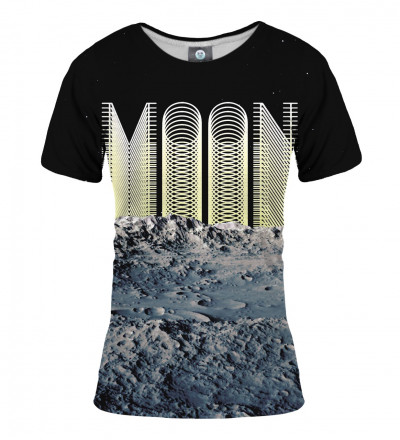 tshirt with moon inscription