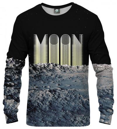 sweatshirt with moon inscription