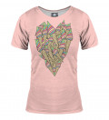 T-shirt damski Ice-cream heart