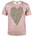 T-shirt Ice-cream heart
