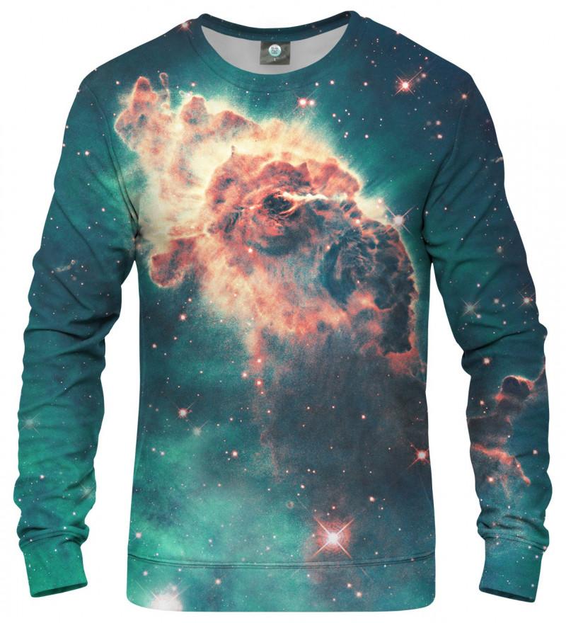 sweatshirt with galaxy motive