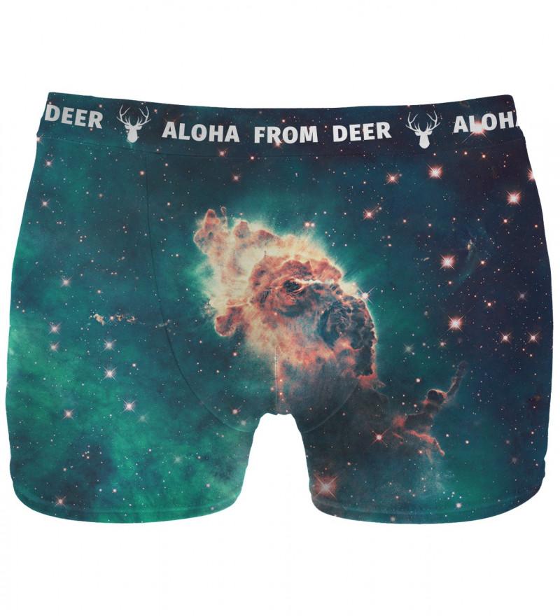 underwear with galaxy motive
