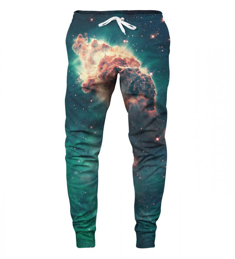 spodnie z motywem galaxy