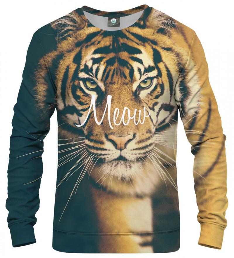 bluza z motywem tygrysa