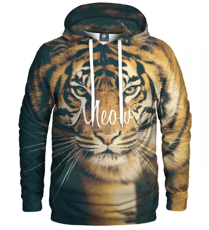 bluza z kapturem z motywem tygrysa