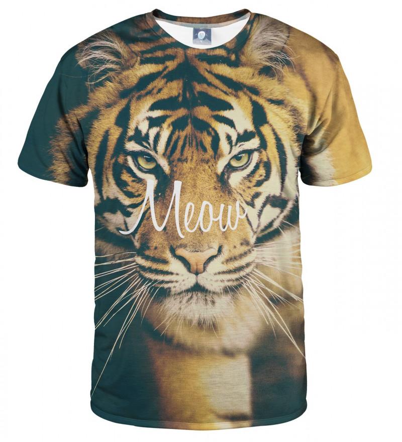 koszulka z motywem tygrysa