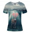 T-shirt damski Water deer