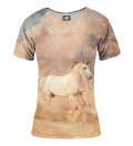 Hard unicorn women t-shirt