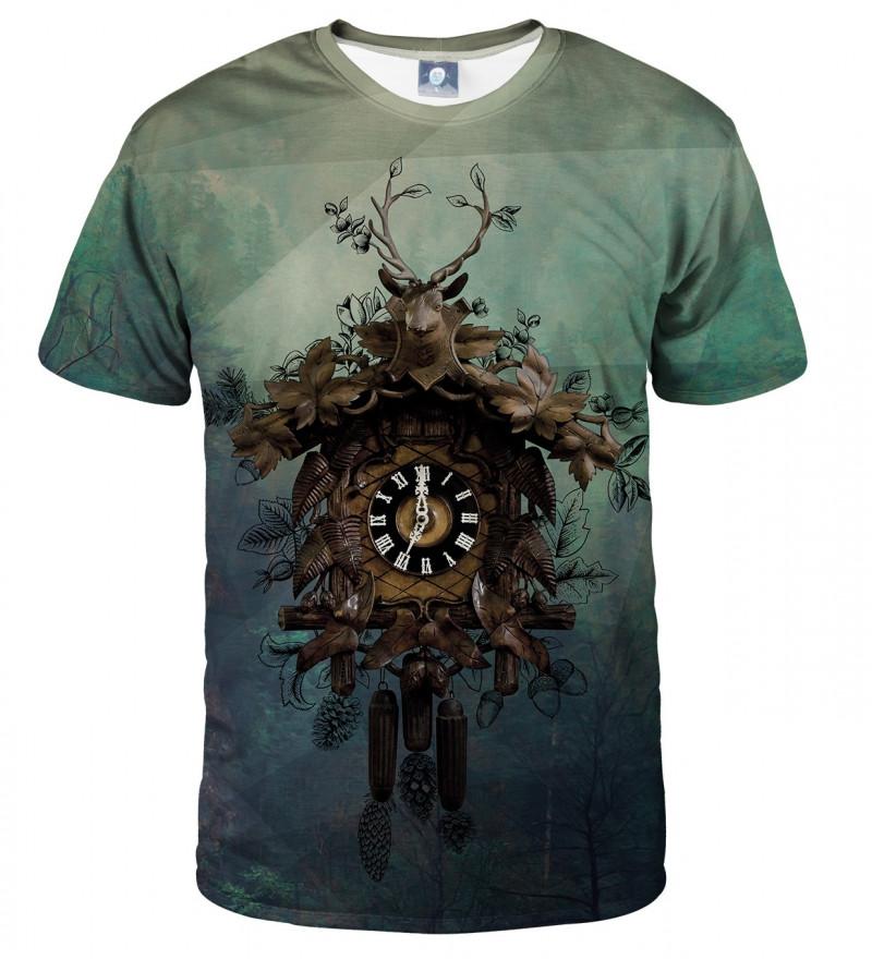 bluza z motywem zegara