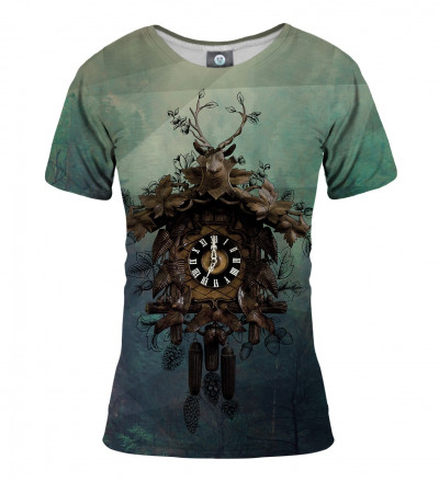 tshirt with clocks motive