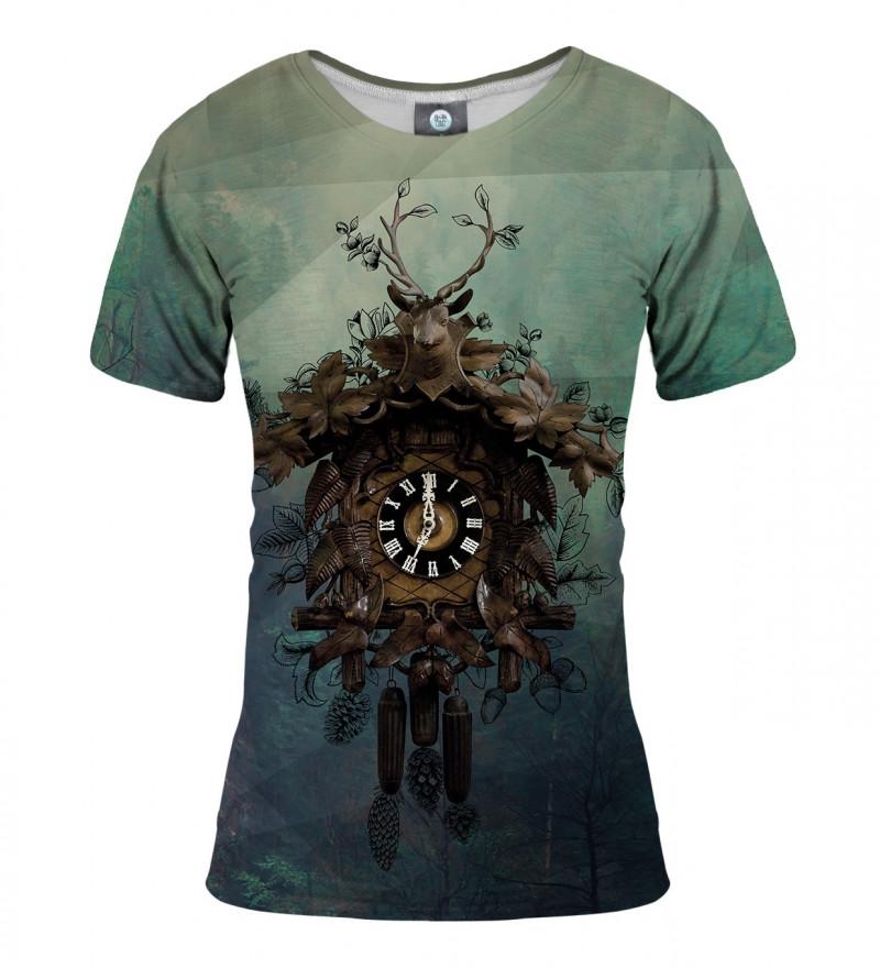 koszulka z motywem zegara