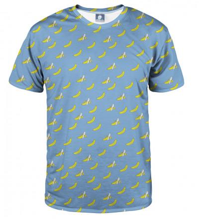 blue tshirt with banana motive