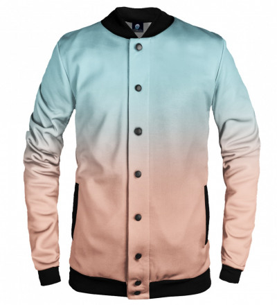 ombre baseball jacket