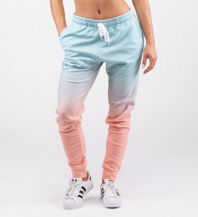 spodnie dresowe z motywem ombre