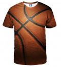 tshirt with basketball ball motive