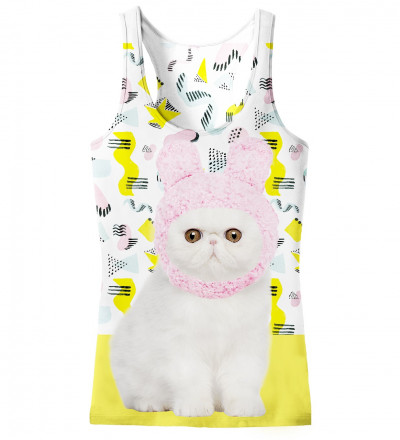 tank top with kitty motive