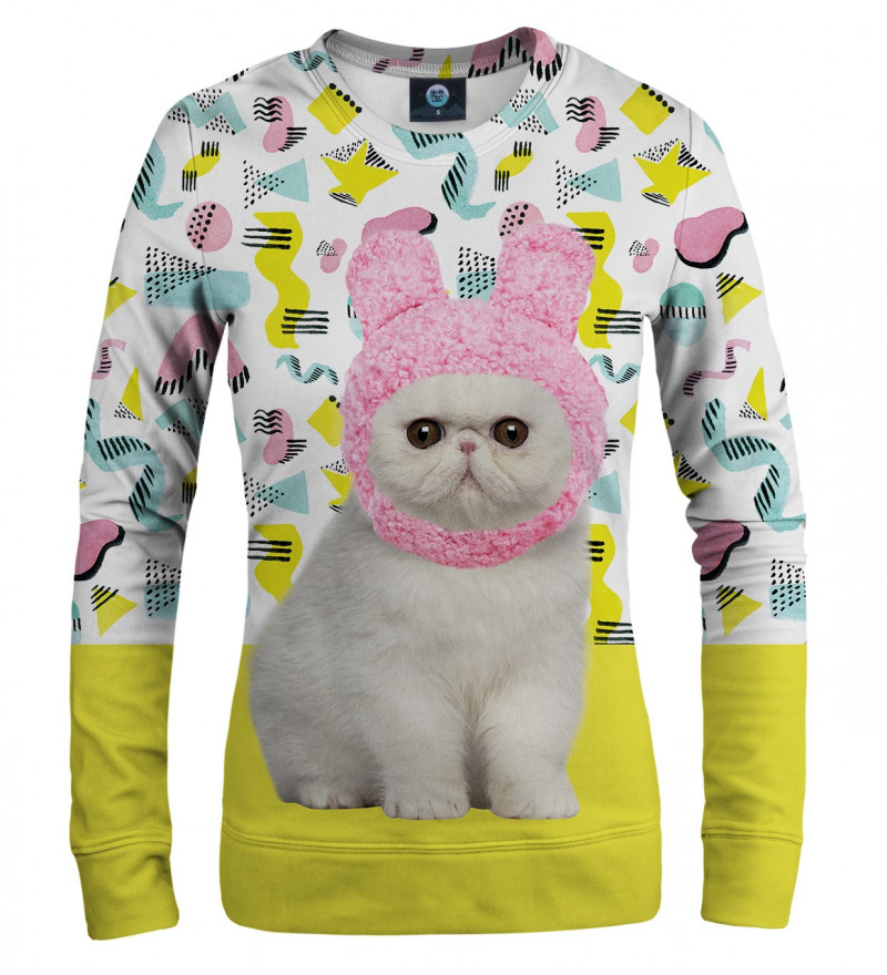 sweasthirt with kitty motive