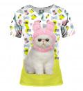 koszulka z motywem kota
