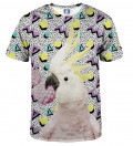 tshirt with parrot motive