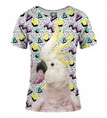 Crazy parrot women t-shirt