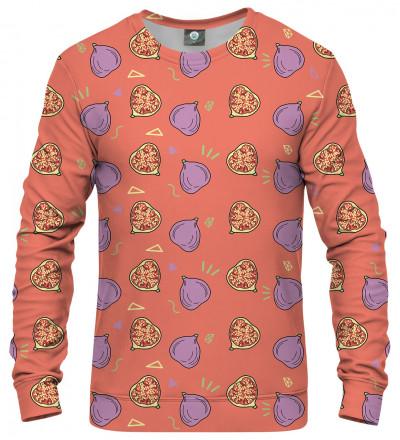 bluza z motywem fig