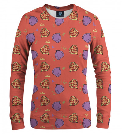 women sweatshirt with figgy motive
