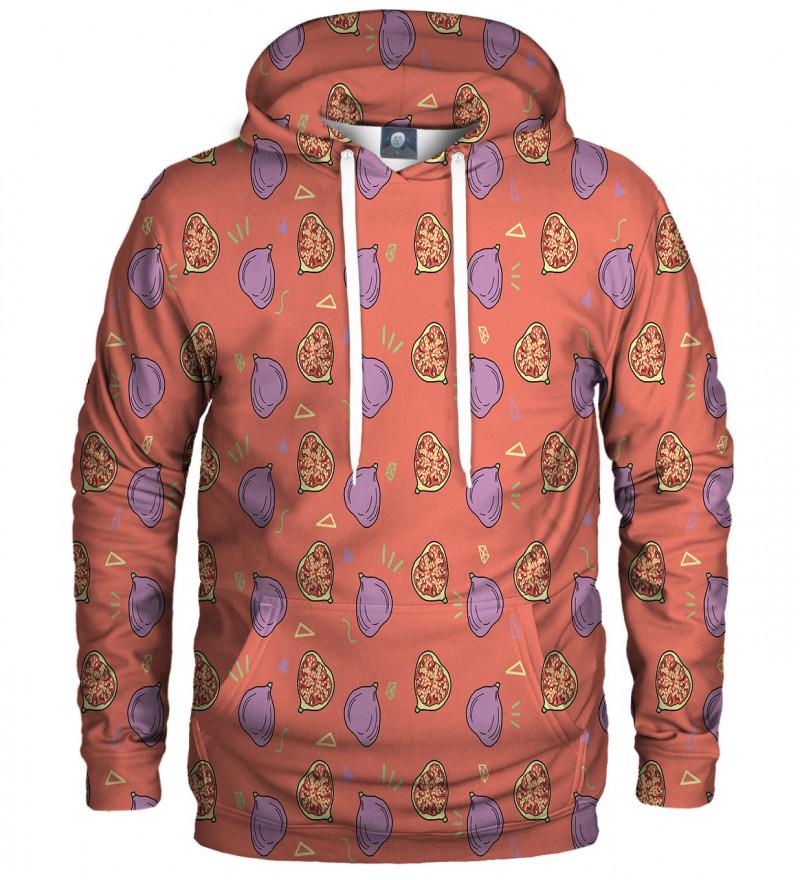 hoodie with figgy motive