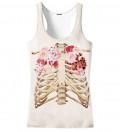 Skeleton chest Tank Top