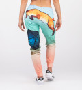 joggers with foxes motive