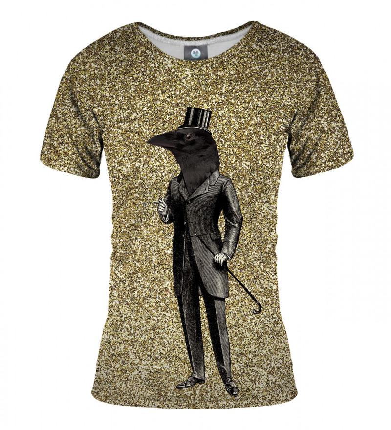tshirt with raven motive