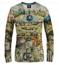 Your garden women sweatshirt, by Hieronim Bosch