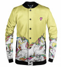 Unicorn baseball jacket