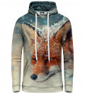 Bluza damska z kapturem The fox