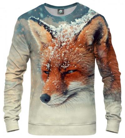 sweatshirt with fox motive